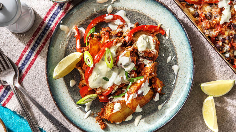 Mexican Beef Loaded Wedges