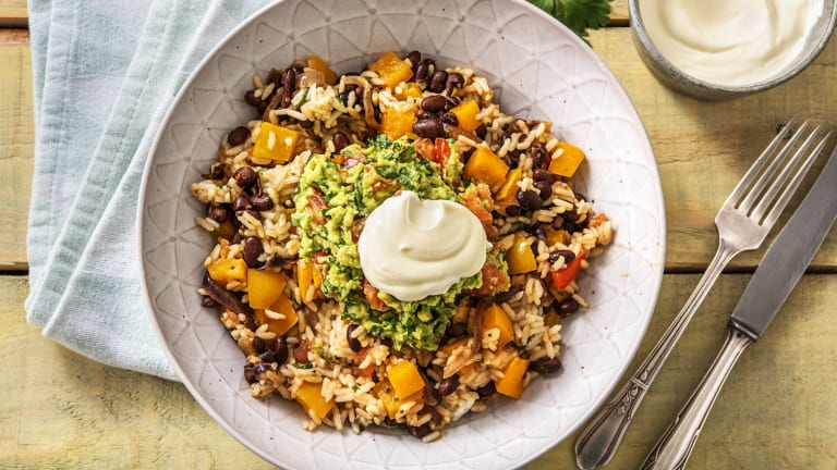Mexican Black Bean Bowl