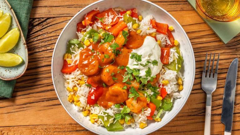Mexican-Style Shrimp Bowls