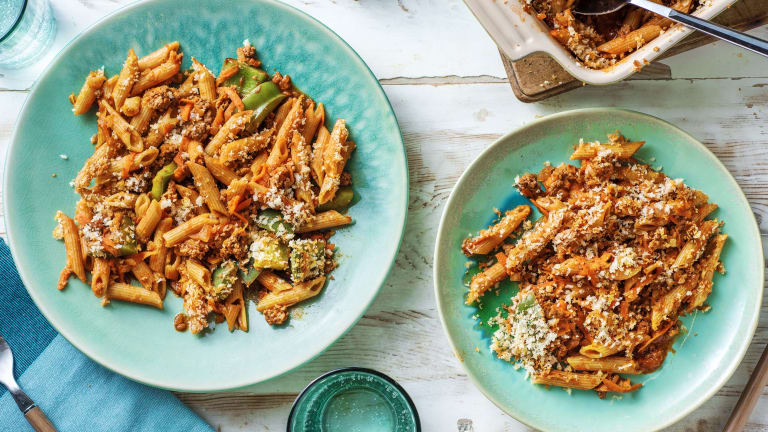 Mexican-Style Beef Pasta Bake