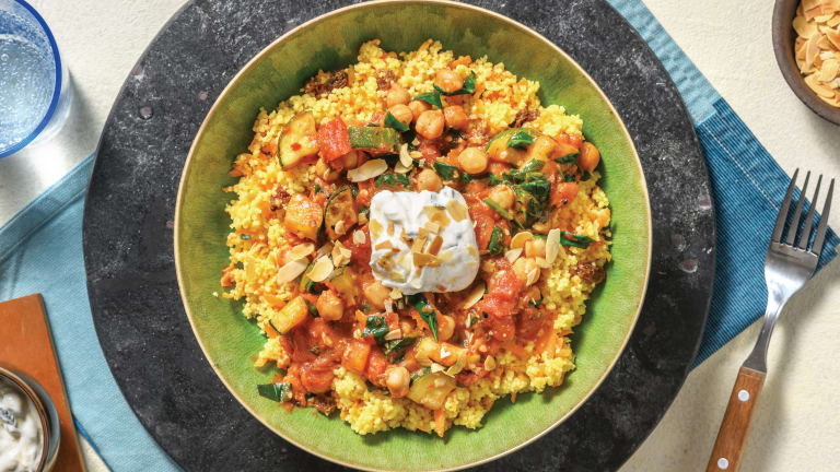 North African Chickpea & Tomato Stew