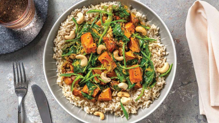 Mild Kumara & Coconut Curry