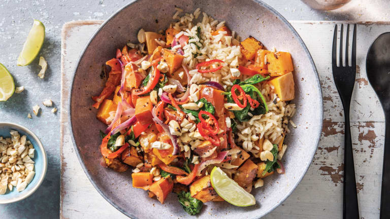Mild Sweet Potato & Coconut Curry