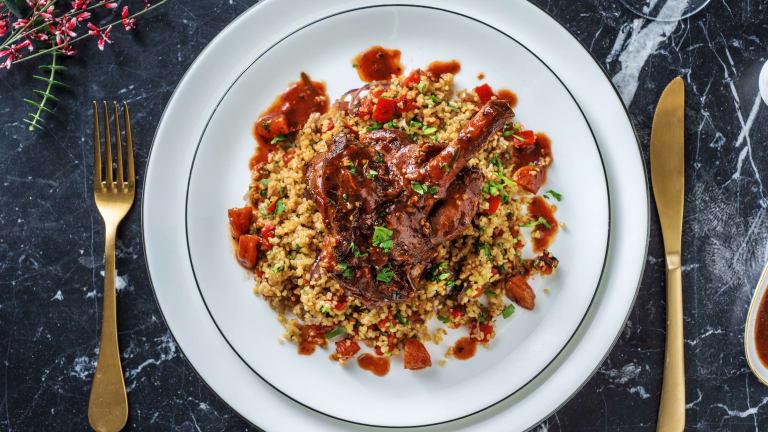 Moroccan-Style Lamb Shank