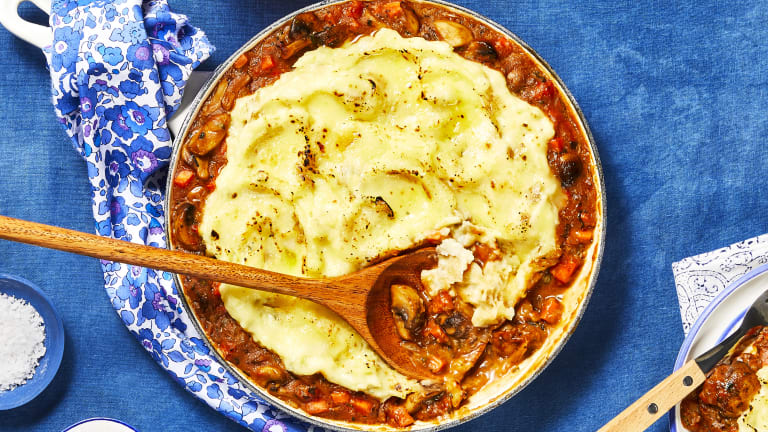 Mushroom & Herb Shepherd's Pie
