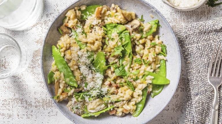 Mushroom & Pancetta Risotto