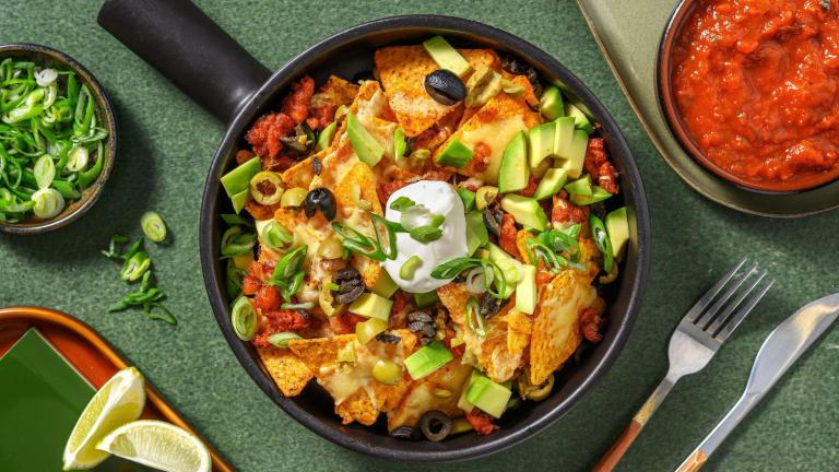 Chorizo Nacho Platter