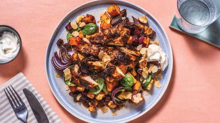 Nan's Chicken & Roast Veggie Toss
