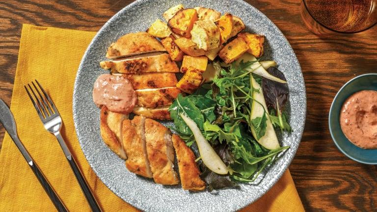 Easy Chicken & Oregano-Roasted Veggies