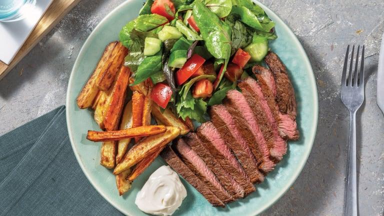 Easy Dukkah-Spiced Steak