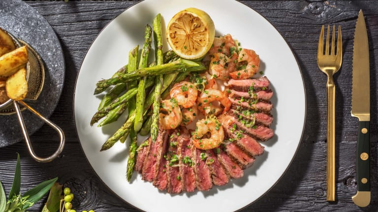 Surf and Turf  with Wedges