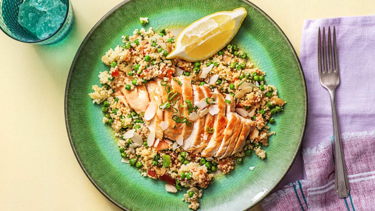 One-Pan Chicken and Couscous Pilaf