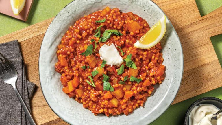 One-Pan Spanish Chorizo & Couscous Stew