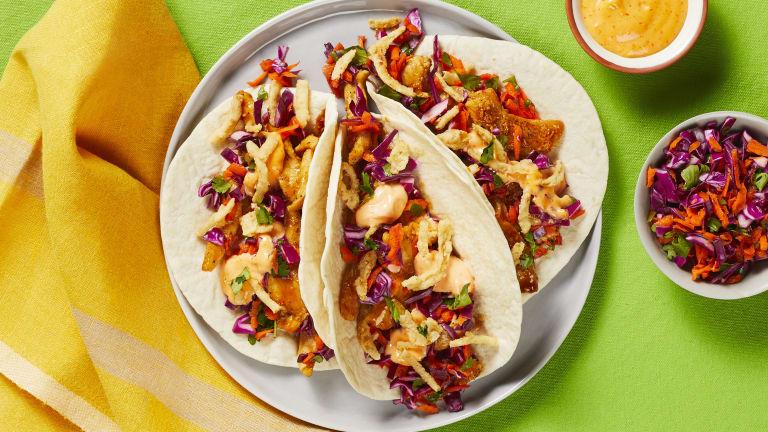 Chicken Stir-Fry Tacos