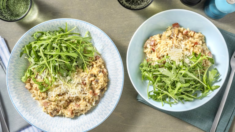 Cheesy Oven-Baked Risotto