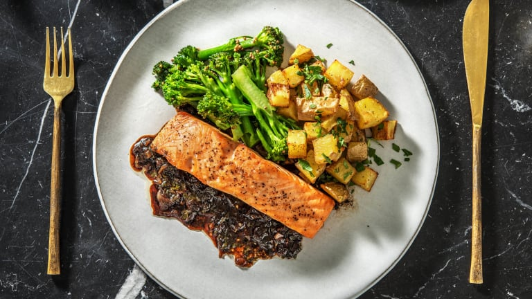 Oven-Baked Salmon