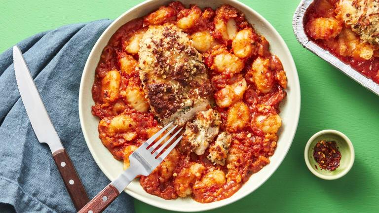 Oven-Ready Chicken & Gnocchi Bake