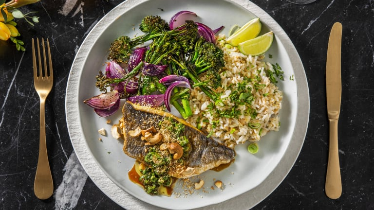 Pan-Fried Gilt Bream