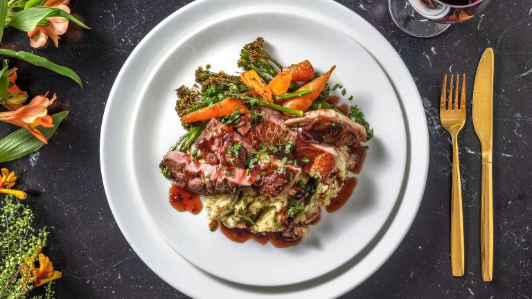 Pan-Fried Lamb Steak