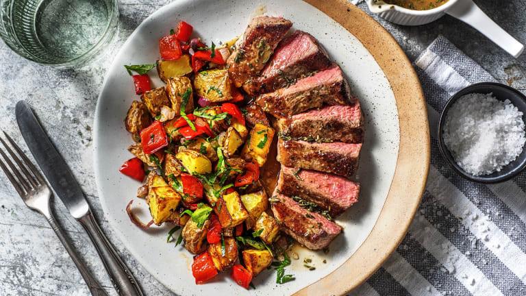 Pan-Seared Steak