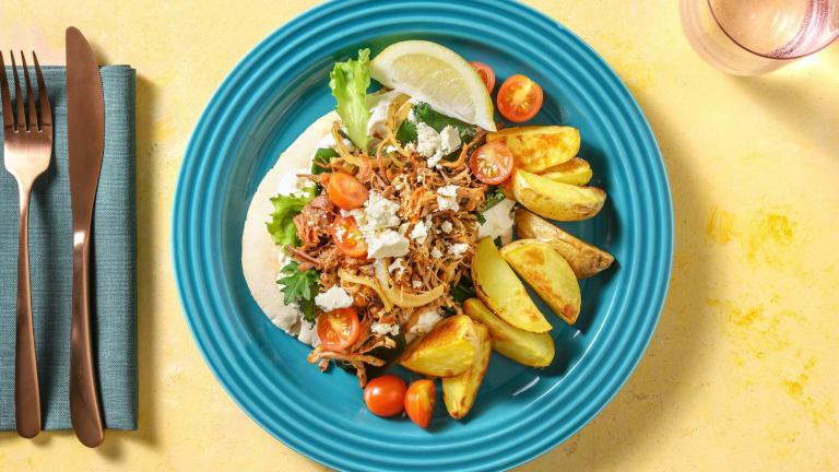 Pork Gyro Inspired Dinner