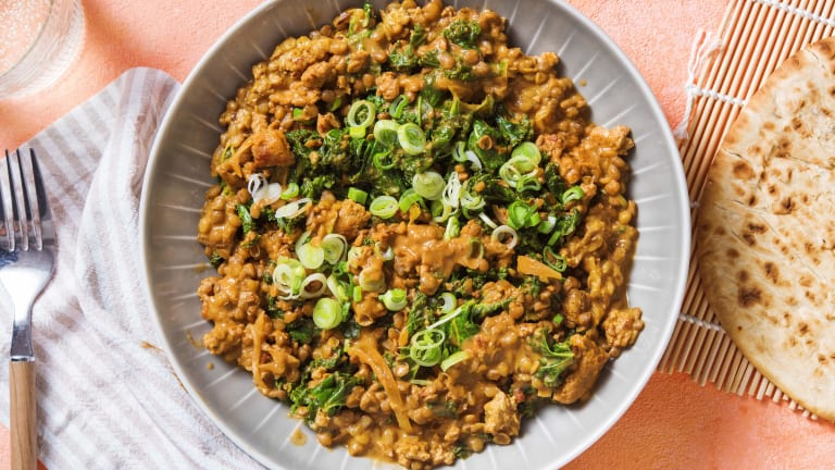 Pork and Lentil Curry