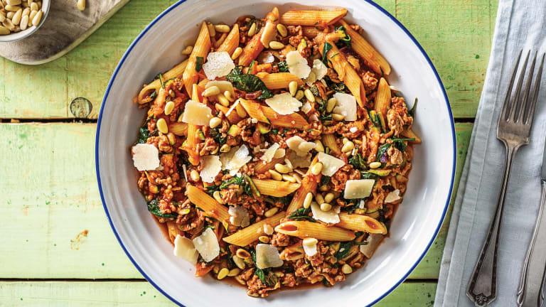 Cheat's Italian Pork & Veggie Bolognese