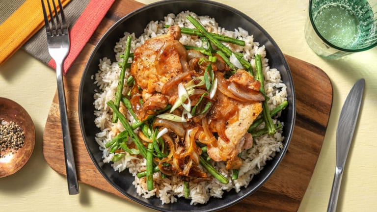 Pinoy-Style Chicken Adobo