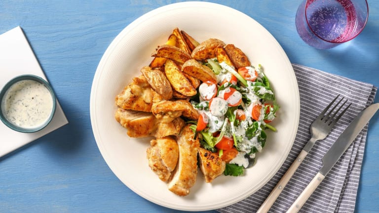 Honey-Garlic Tossed Chicken