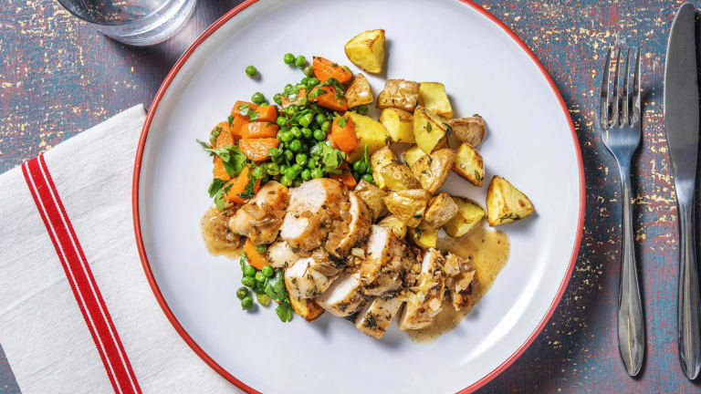 Pan-Seared Thyme Chicken