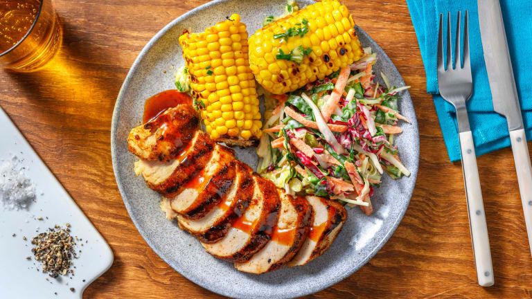 Sweet and Smoky Grilled Chicken