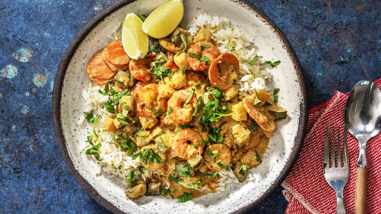 Prawn Green Thai-Style Curry