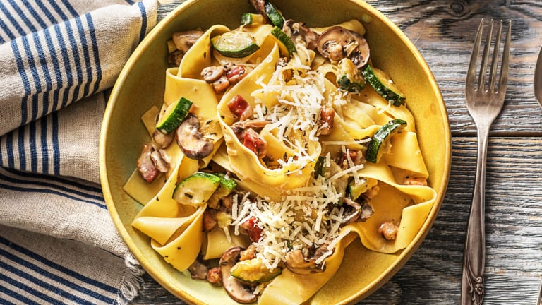 Pronto Bacon Pappardelle