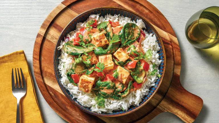 Quick Berbere-Spiced Paneer Curry