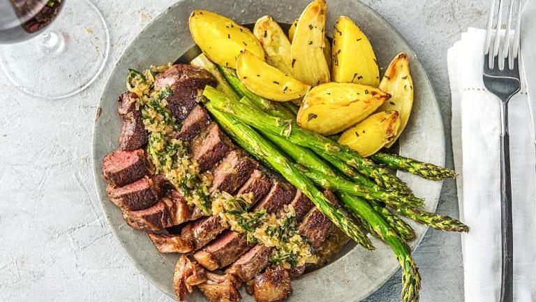 Rib-Eye Steak Béarnaise