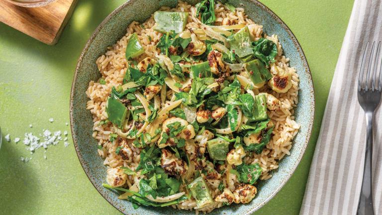 Indian Roasted Cauliflower Curry
