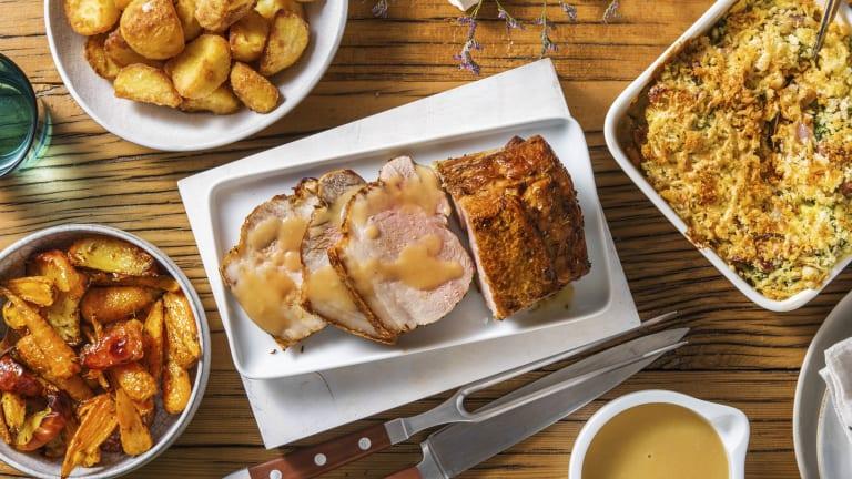 Roasted Cumin Pork and Gravy