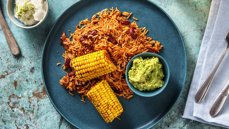 Roasted Mexican Corn (v)
