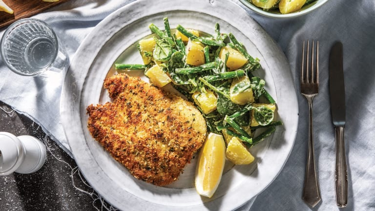 Sage & Rosemary Crusted Chicken