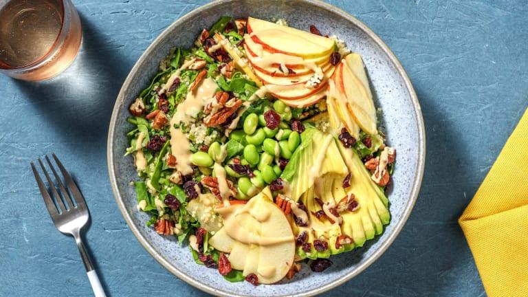 Salade californienne quinoa, edamame & avocat