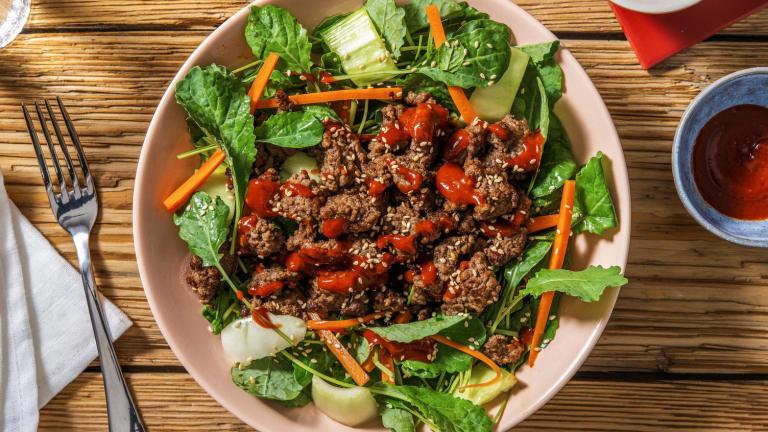 Korean Style Beef Salad