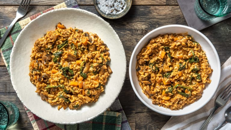 Sausage Bolognese Risotto