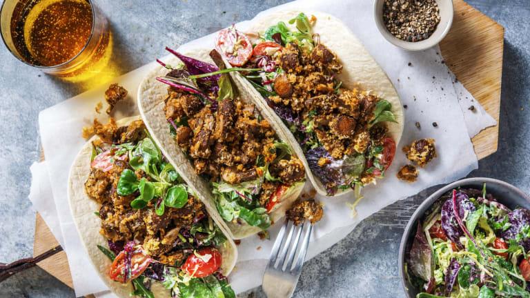 Savoury Mushroom Tacos