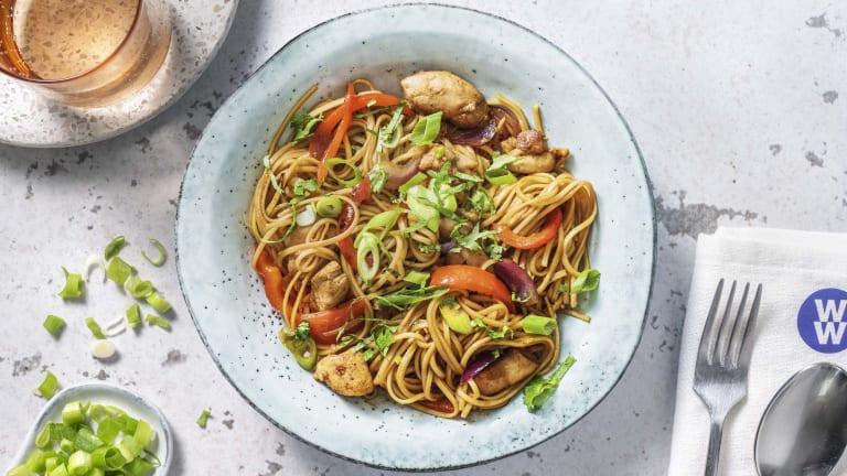 Shanghai Style Hoisin Chicken Stir-Fry