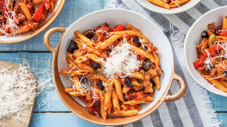 Sicilian-Style Penne Caponata