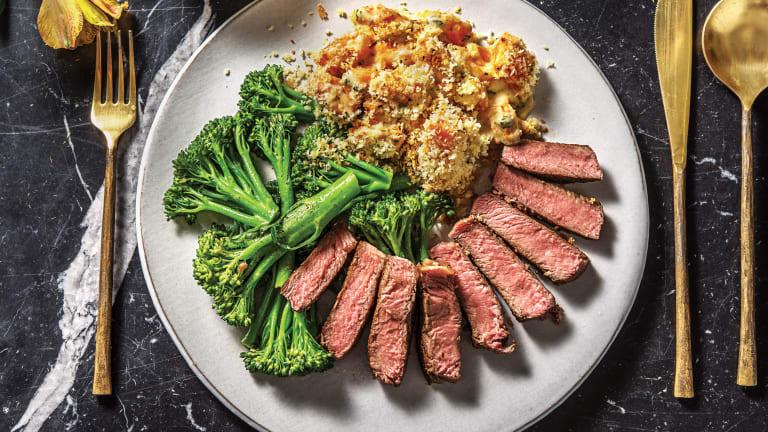 Sirloin Steak & Black Garlic Mayo