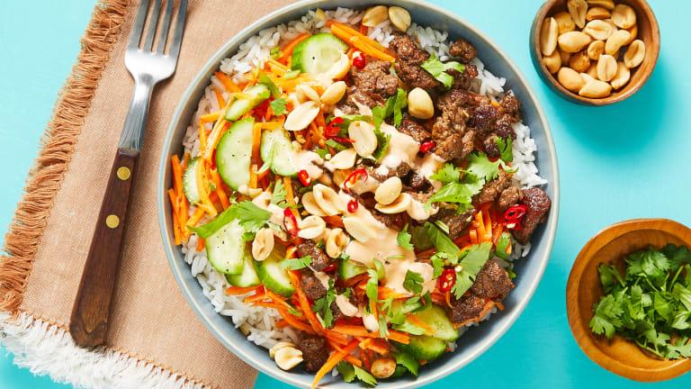 Sizzlin' Saigon Steak Bowls