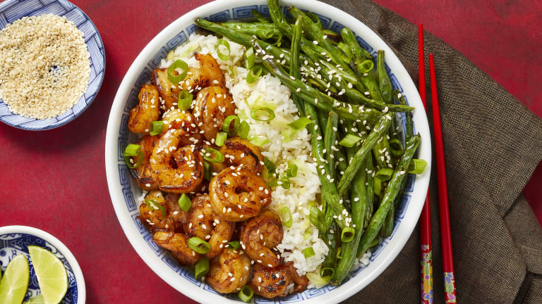 Sizzling Hoisin Shrimp