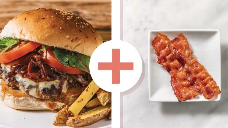 Smokey Beef & Bacon Cheeseburger