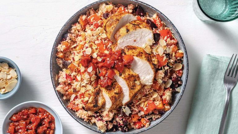 Smokey Chicken & Roast Veggie Couscous